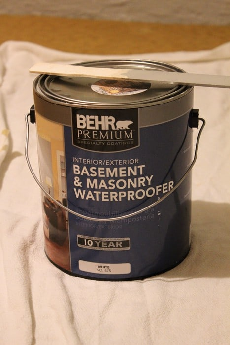 behr basement masonry waterproofer paint