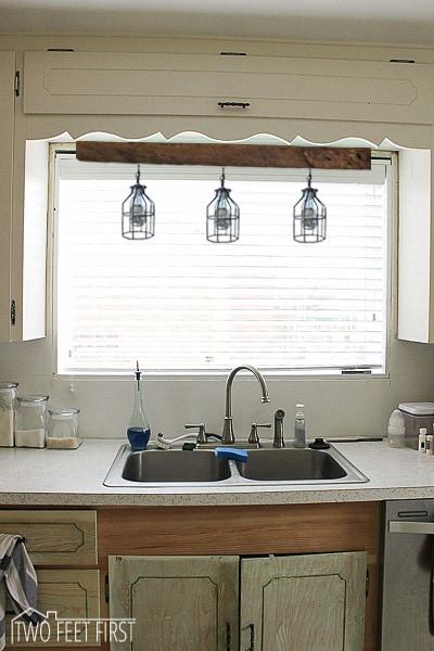 Pendant Light Above Kitchen Sink
