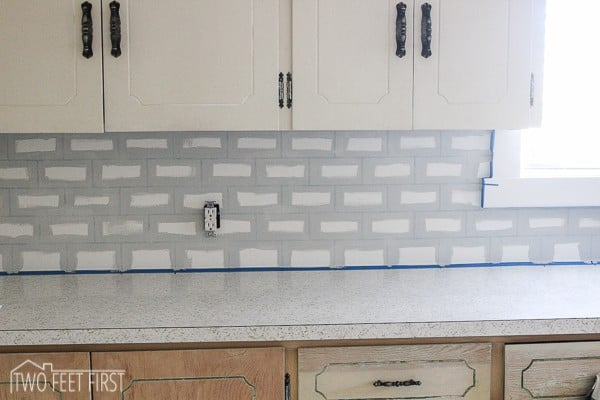diy subway tile backsplash 16