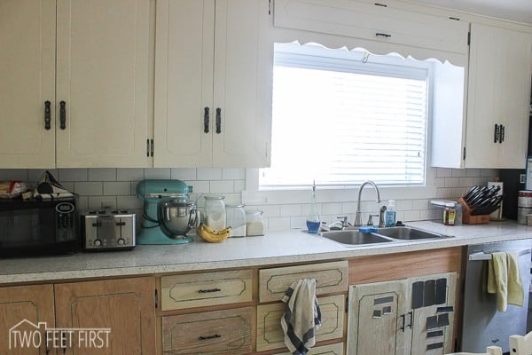 diy cheap kitchen backsplash