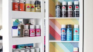 DIY Swing Out Wall Shelves | Easy Wood Storage for Small Spaces