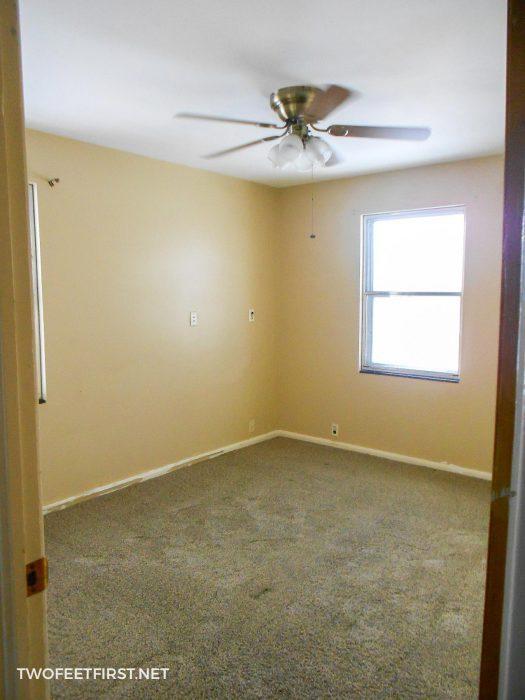 brown wall bedroom