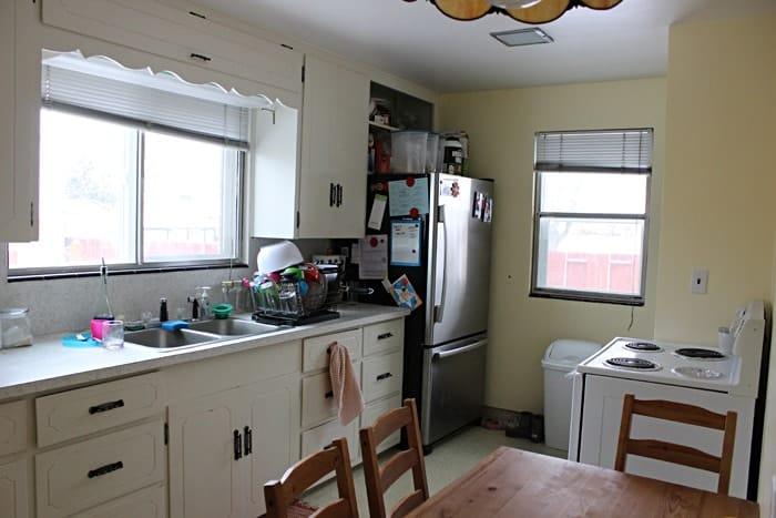 Kitchen in 2013