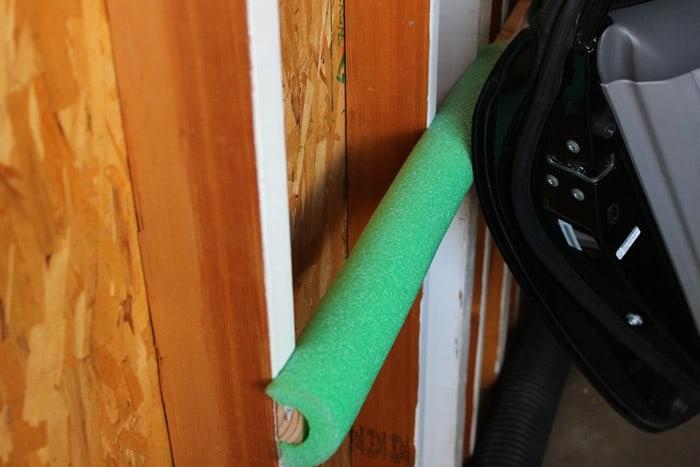 Protect Car Door from Garage