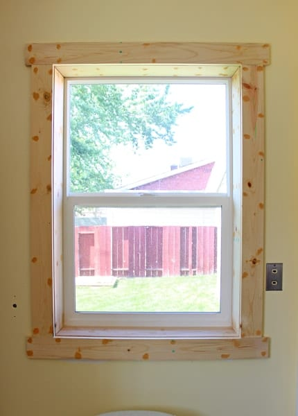 Window Before Caulk
