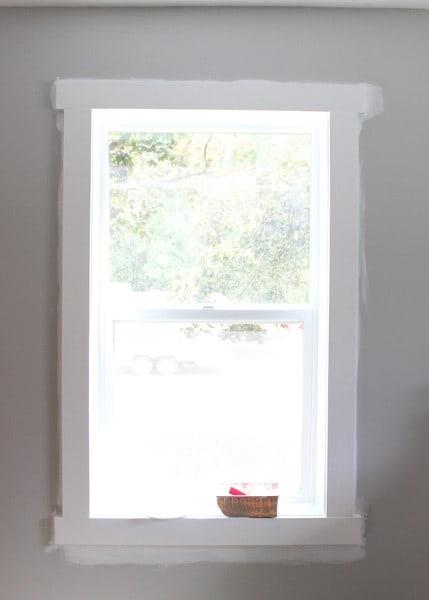 Window Before Edging