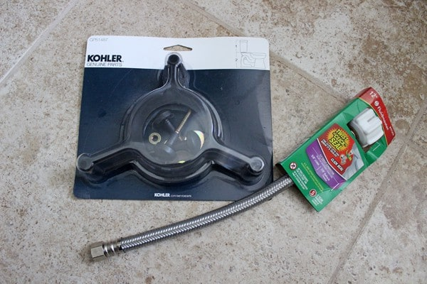 Kohler extra toilet repair kit