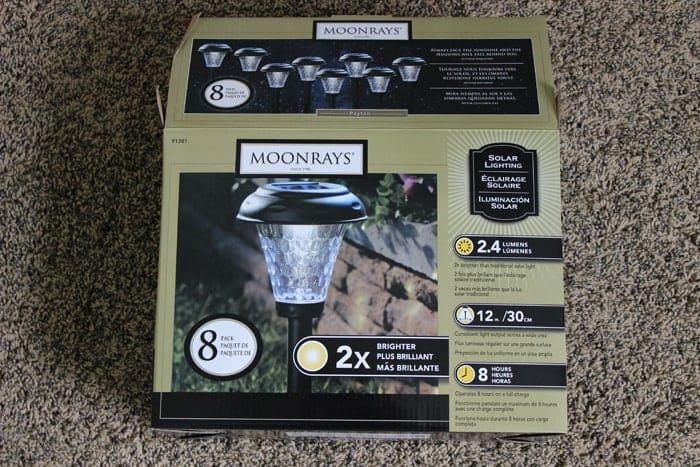 Moonrays solar lighting