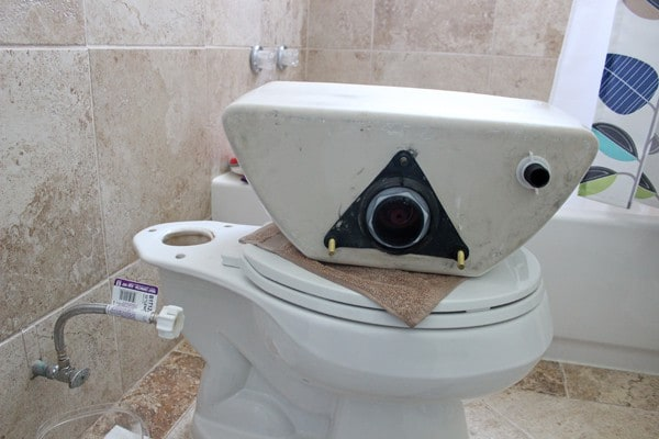 Repair toilet kit