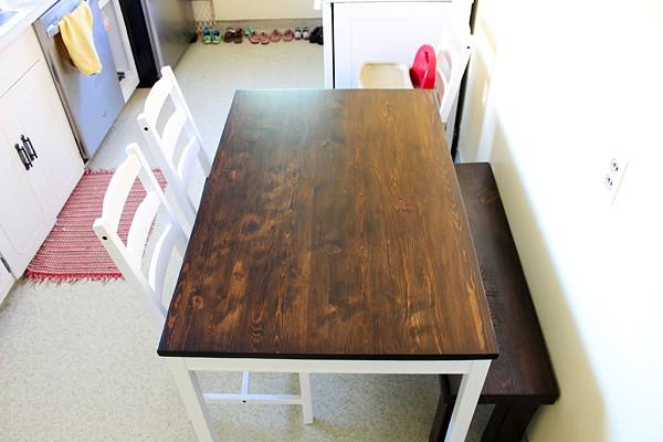 Ikea Kitchen Table Hack