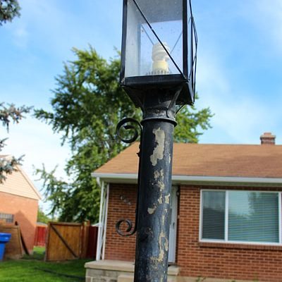 DIY Light Pole