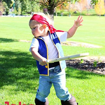 Jake and the Neverland Pirate Costume Tutorial