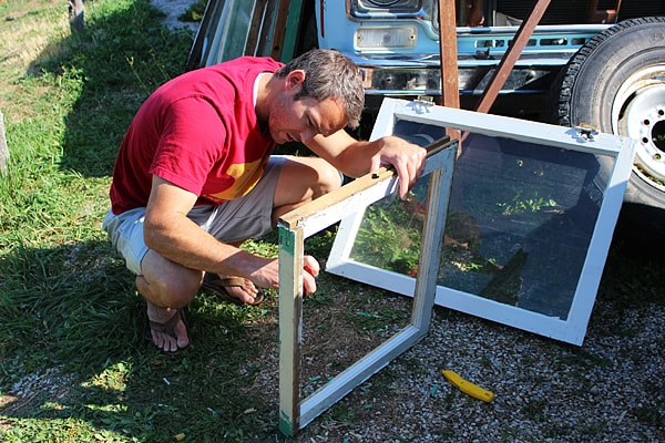 DIY old windows