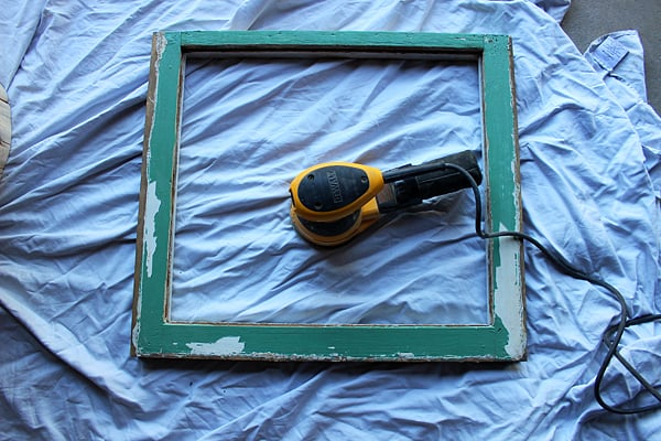 Sanding Old windows