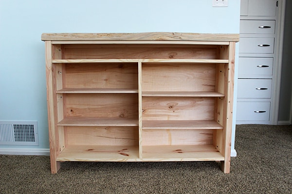 Build TV stand