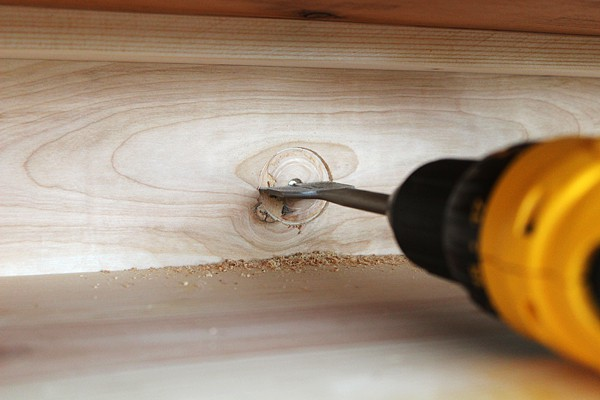 Drilling hole