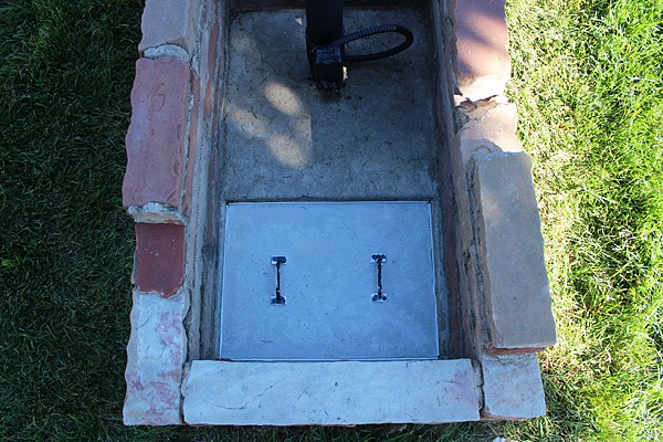 cement box for outside
