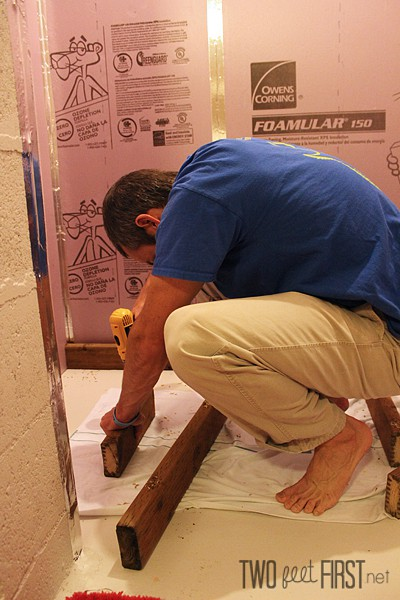 insulate basement walls