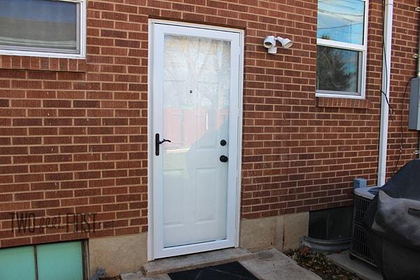 adding storm door
