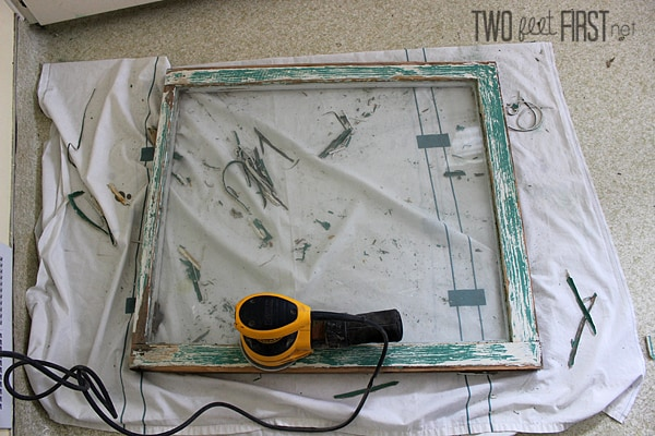 DIY Old Window Frame