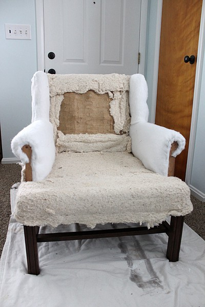 DIY Upholstery Chair