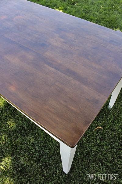 redo kitchen table