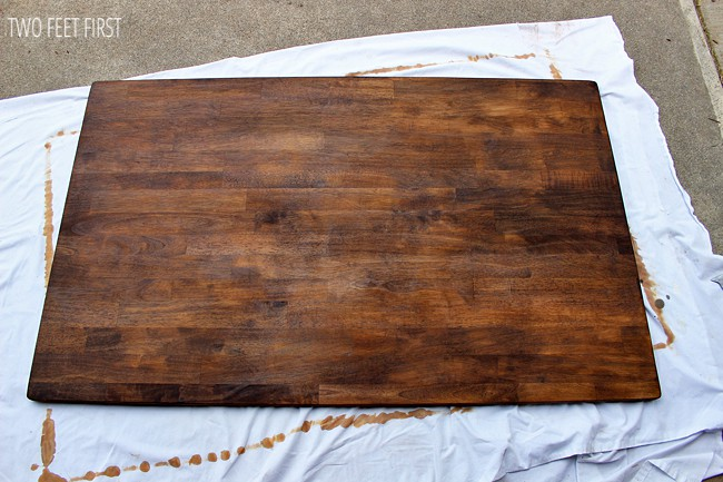wood-stain-for-kitchen-tabl