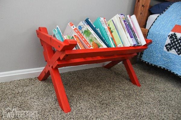 DIY kid book storage-21