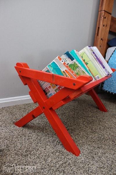 DIY kid book storage-22