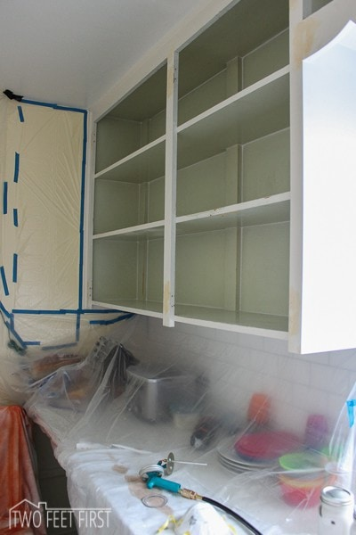 Let's start painting those cabinets, FINALLY!!!