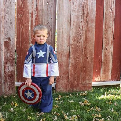 sew captain america costume