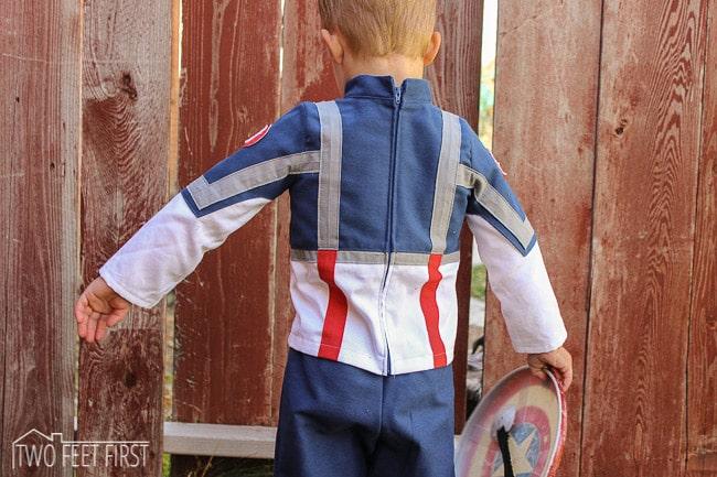 make captain america costume