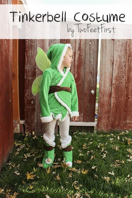 kid tinkerbell costume