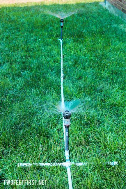 create a simple sprinker