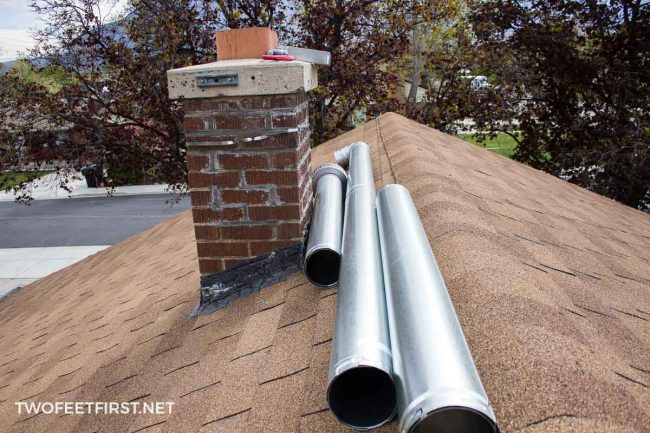 This is something I had no clue about and it's something you probably need in your home to be to code. Here is how we install a chimney liner.