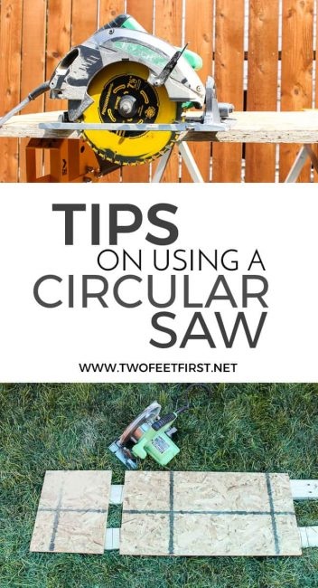 Tips on using a Circular saw