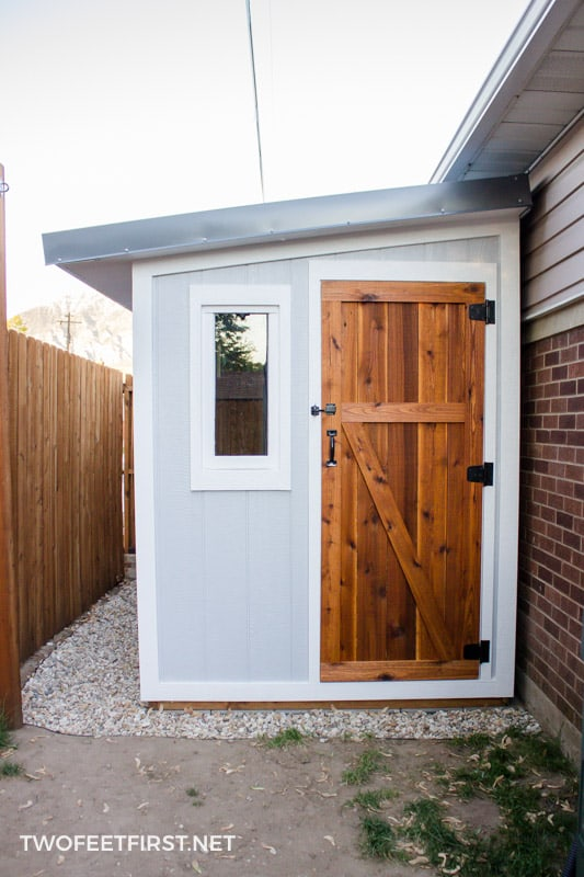 How much does it cost to build a shed twofeetfirst for How much will it cost to build a shed