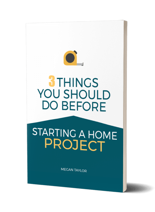 Things you should do before starting a home project
