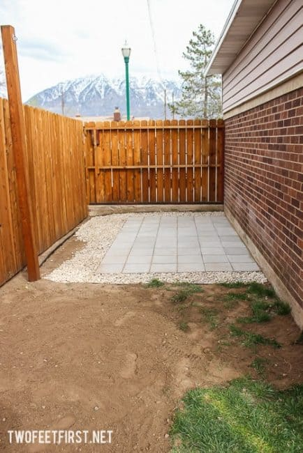 How to add edging to pavers