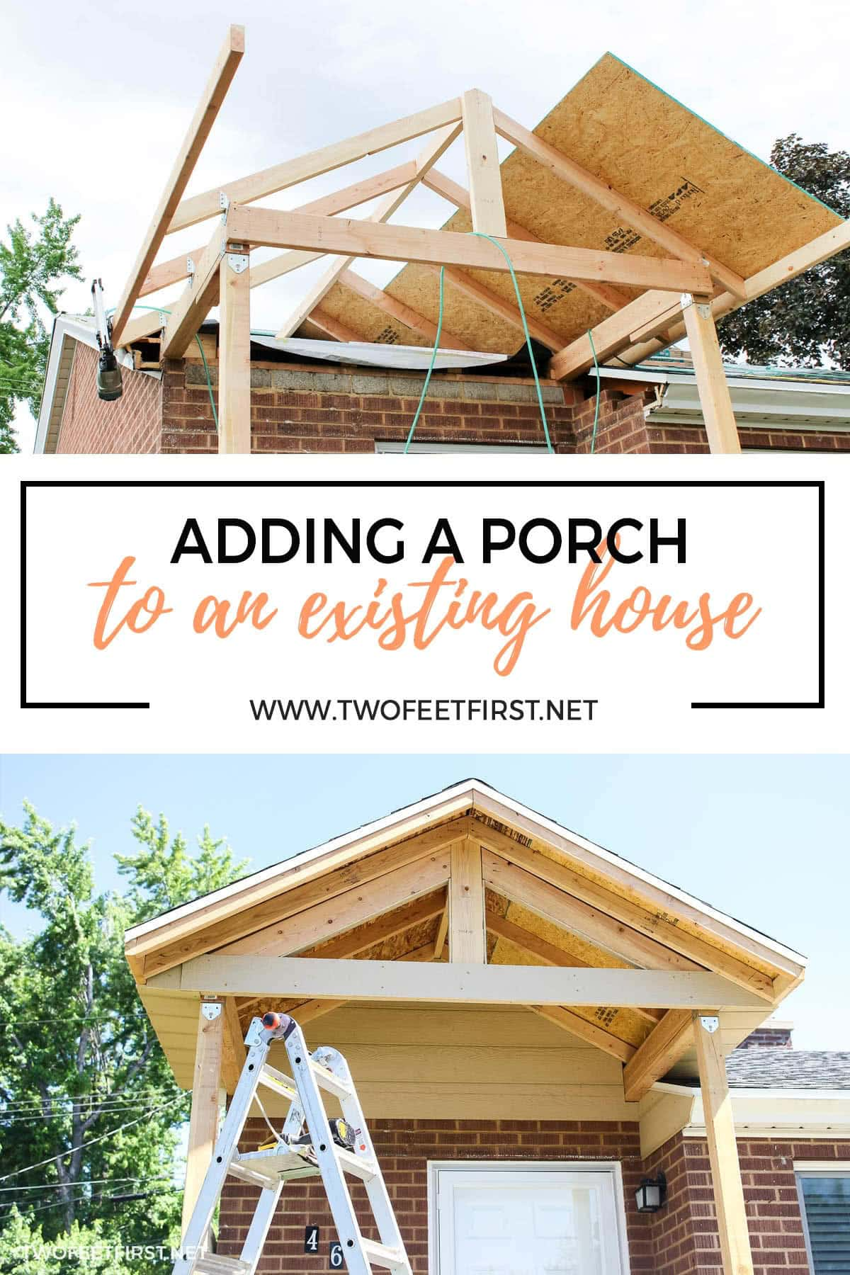 adding a porch to an existing house