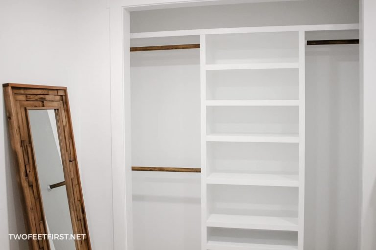 How to build a DIY floating closet organizer