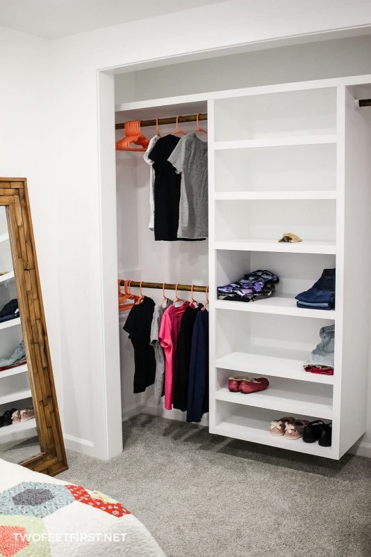 What Does It Cost To Build A Diy Closet Organizer
