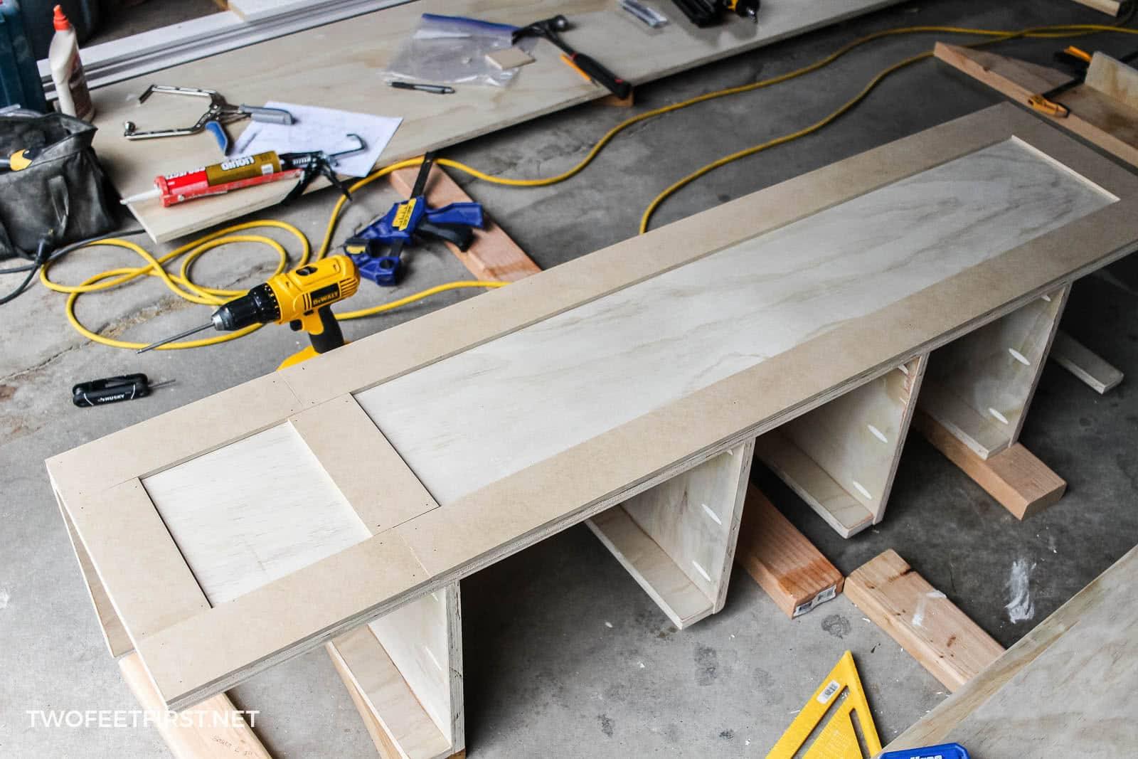 add trim to wood