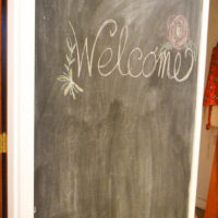 How to turn any wall into a Chalkboard