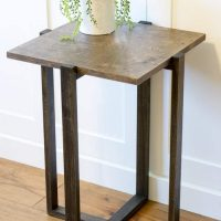 DIY Modern End Table
