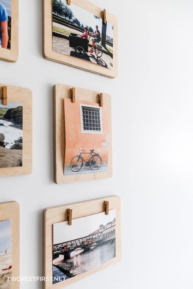 DIY Clipboard Frames