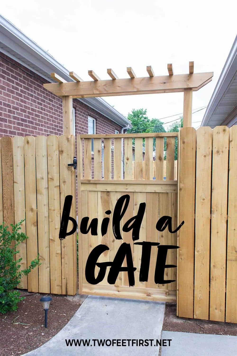 build a gate for a fence