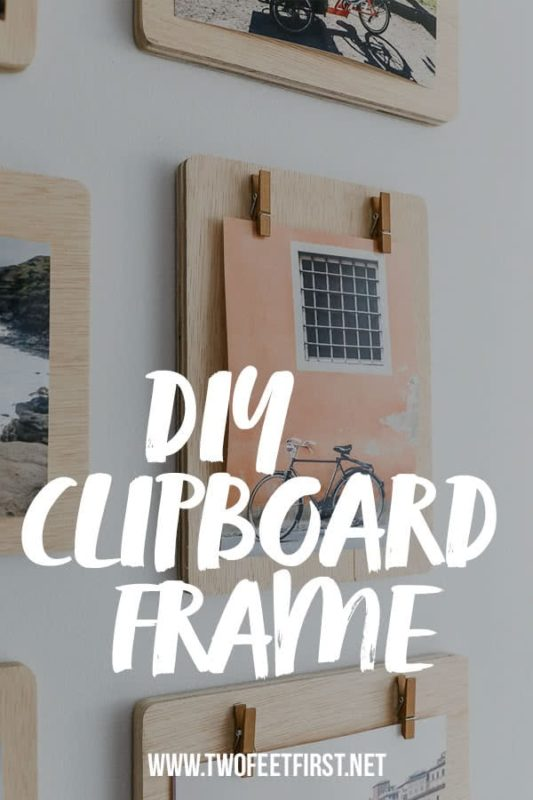 DIY clipboard frames