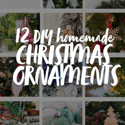 DIY homemade Christmas Ornaments
