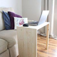 DIY Multipurpose Side Table - $20 Build